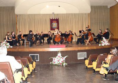 43. Concierto de la Orquesta de Cámara Galega durante los actos llevados a cabo en su nombramiento como Hijo Predilecto de Ponteareas.