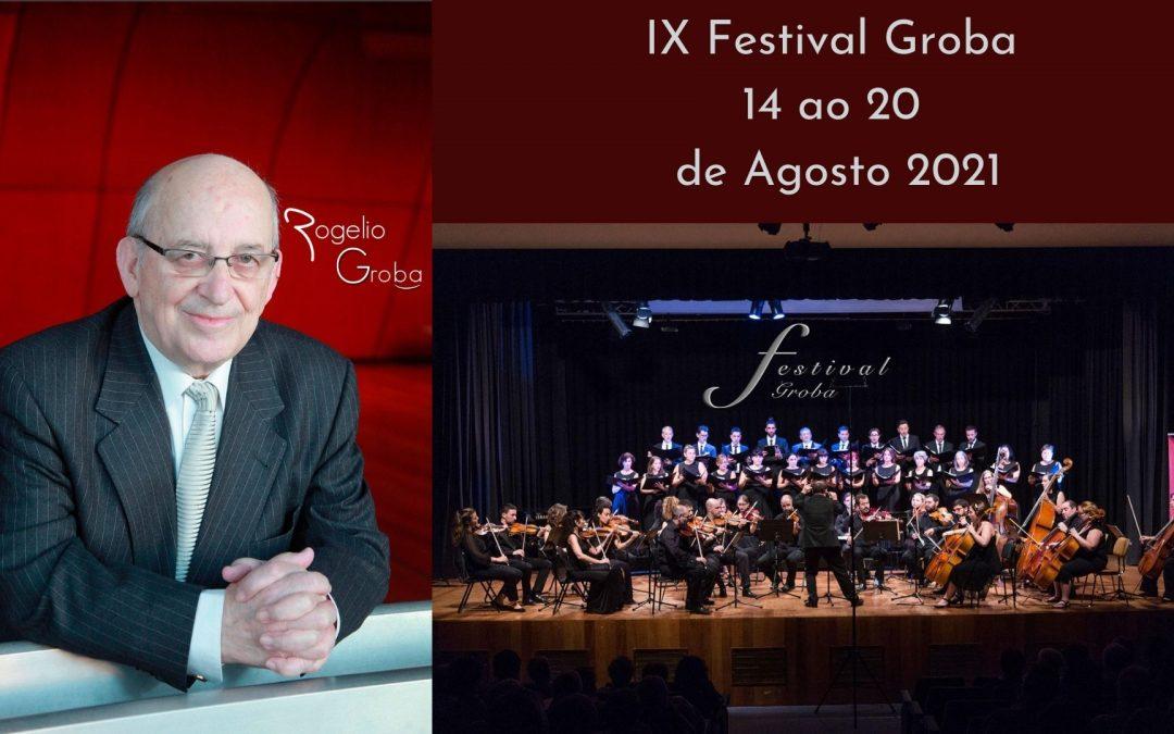 IX Festival Groba  14 ao 20  de Agosto 2021