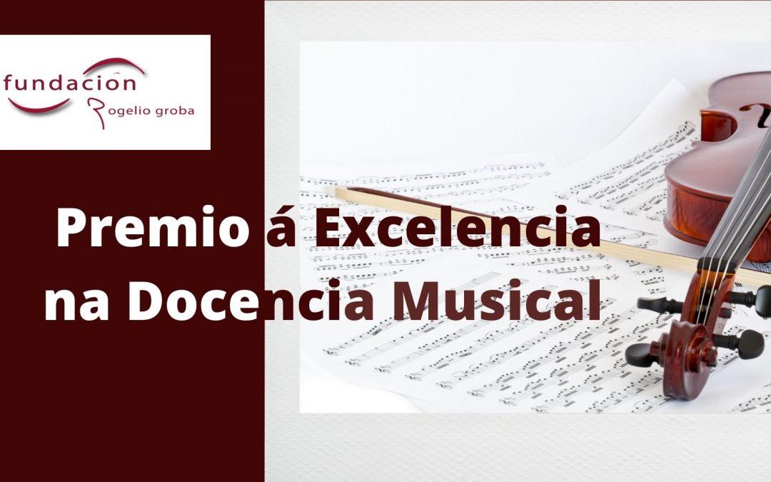 Premio á Excelencia na Docencia Musical