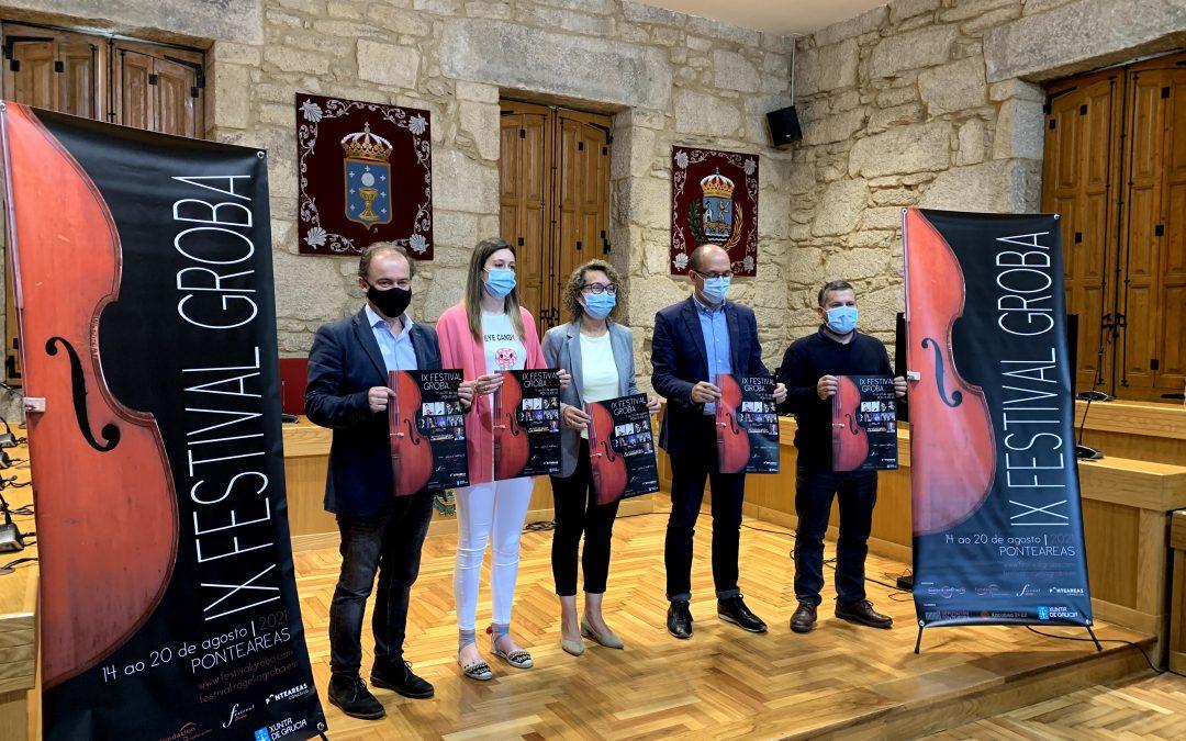 Presentación del I Festival Groba en Ponteareas